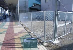 前橋市T様フェンス設置工事