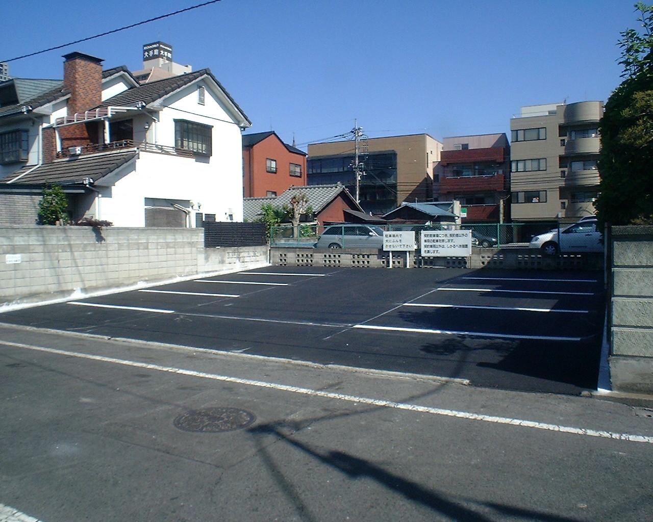 駐車場舗装工事 写真