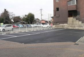 福田不動産様駐車場舗装工事