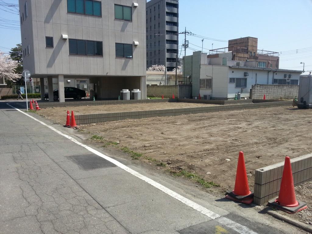 東洋様第二駐車場舗装工事 施工前