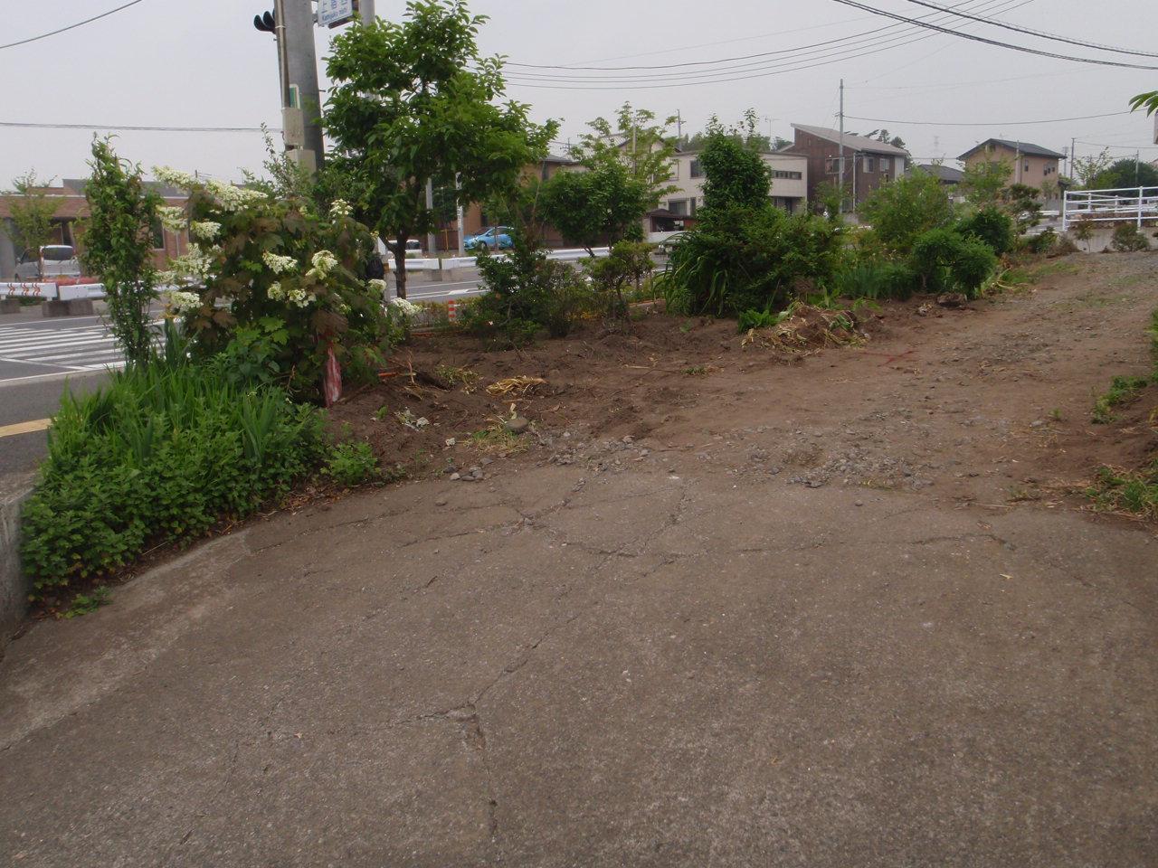 gurumi様第二駐車場工事 施工前