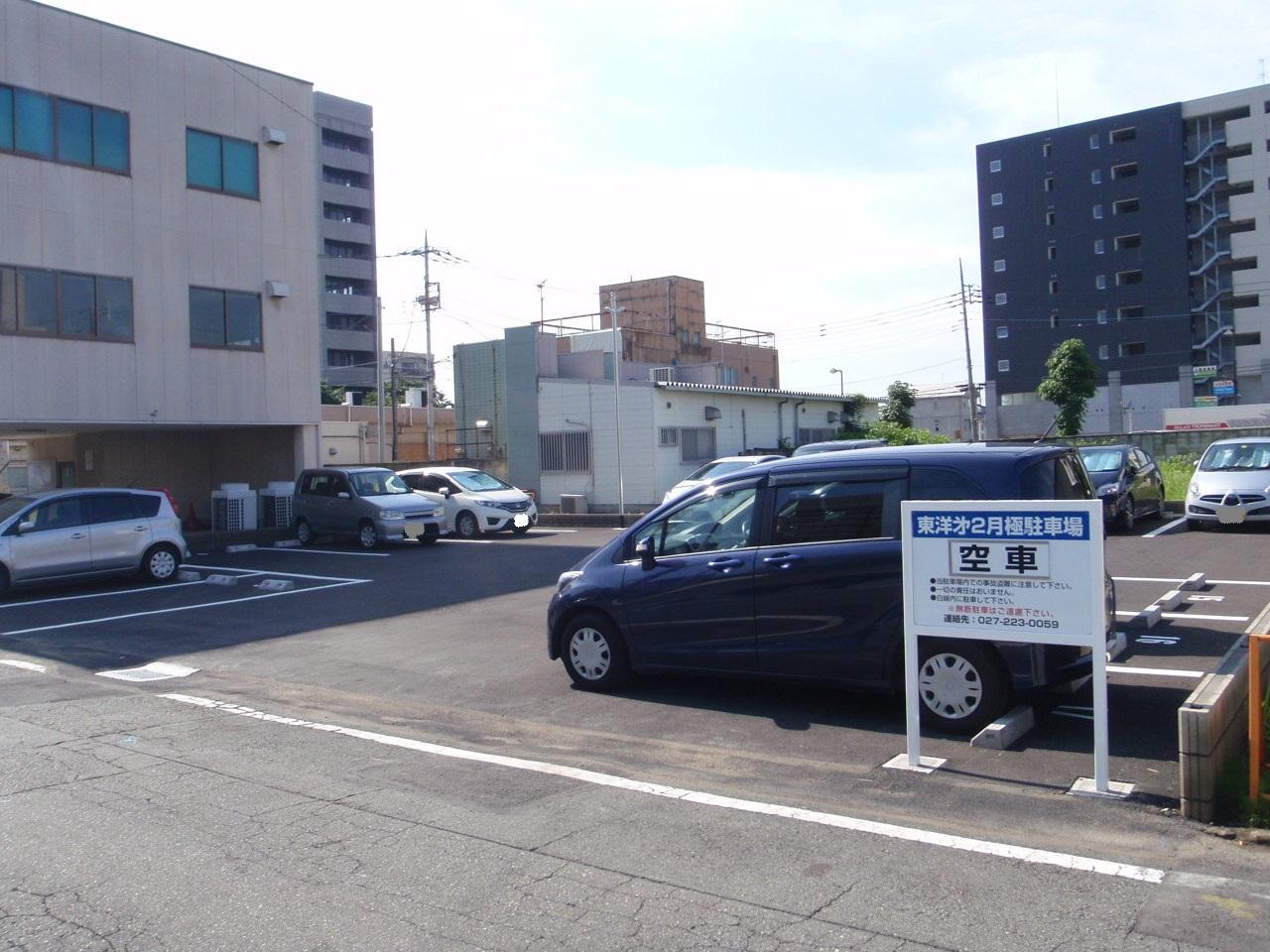 東洋様第二駐車場舗装工事 施工後