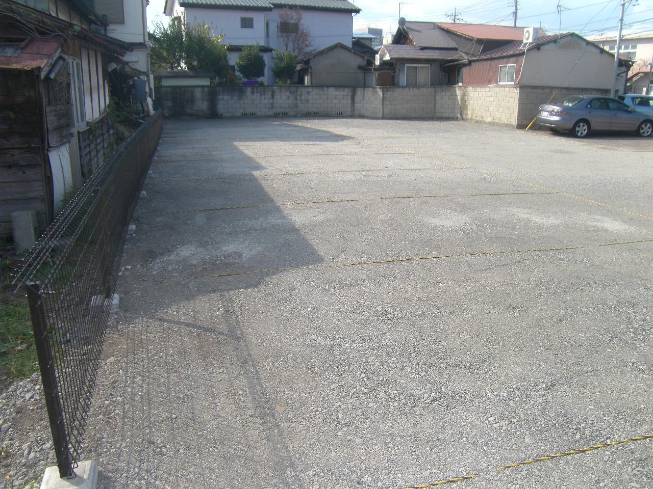 前橋市S様駐車場整備工事 写真