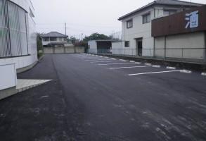 あかぎ信用組合様片貝支店駐車場整備工事