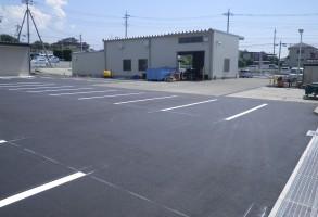 ヤンマーアグリジャパン前橋支店様駐車場整備工事