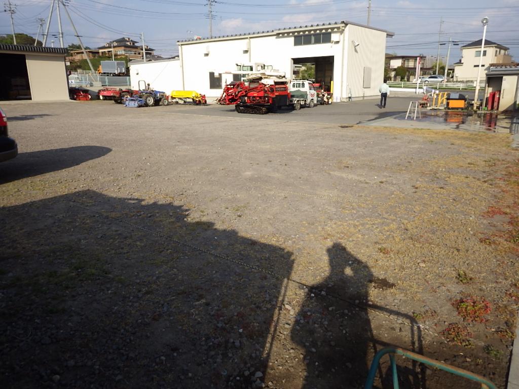 ヤンマーアグリジャパン前橋支店様駐車場整備工事 施工前