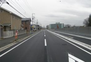 二中地区(第三)土地区画整理事業 都市計画道路整備工事