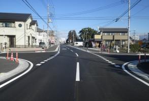 六供土地区画整理事業 都市計画道路舗装工事