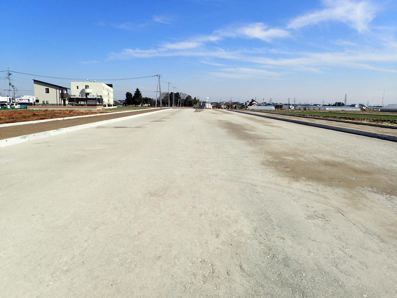 社資交(道路)道路改良工事 写真