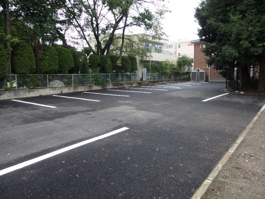 駐車場区画線設置工事 施工後