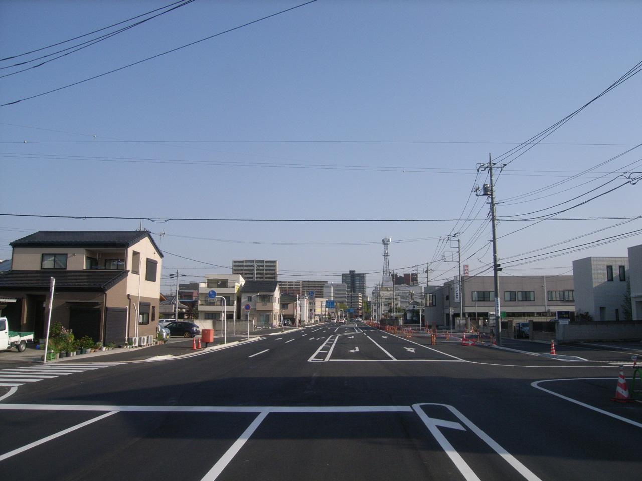 社会資本総合整備(防災・安全/活力基盤)道路改良工事 写真