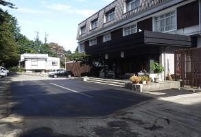 伊香保温泉塚越屋七兵衛様駐車場舗装工事