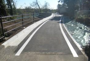 社会資本総合整備(防災・安全)(公安)改良工 利根川自転車道線