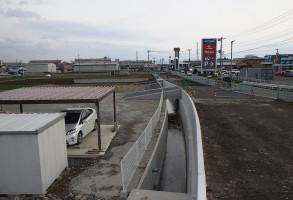 防災・安全交付金(道路)水路改良工事