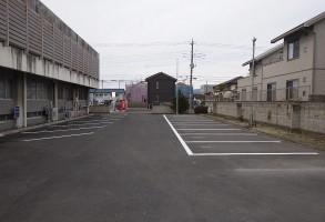 少年鑑別所駐車場整備工事