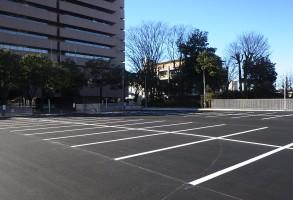 合同庁舎跡地 駐車場整備工事