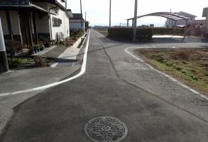 上川淵地区 公共下水道工事