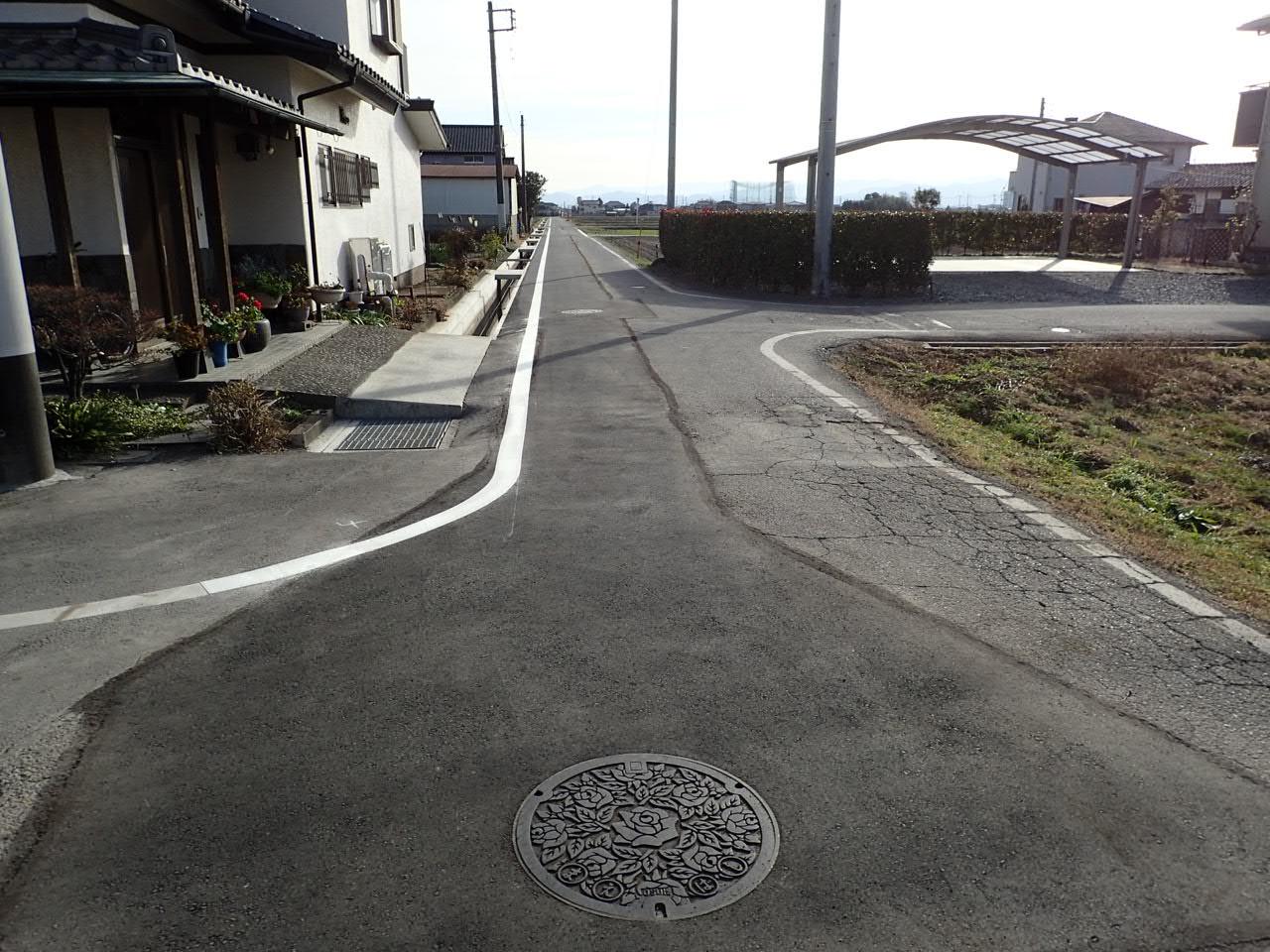 上川淵地区 公共下水道工事 施工後
