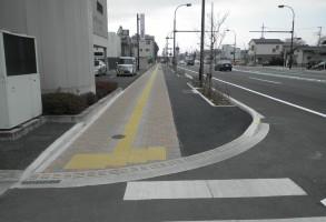 社会資本整備総合交付金(防災・安全/活力基盤) 歩道舗装分割1号
