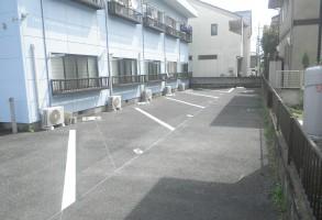 太田市㈱Kホーム駐車場区画線設置工事