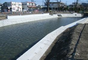 二中地区(第三)土地区画整理事業 橋梁下部工工事