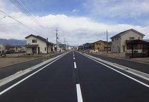 二中地区(第三)土地区画整理事業 都市計画道路整備工事(第7工区)