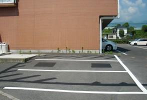 渋川市 株式会社ソアード様 区画線設置工事