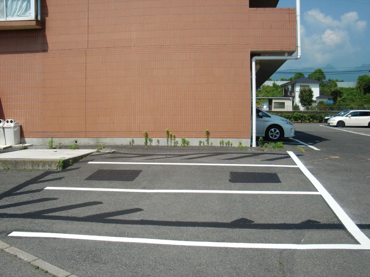 渋川市 株式会社ソアード様 区画線設置工事 施工後