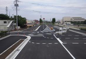 六供土地区画整理事業 都市計画道路整備工事(第8工区)