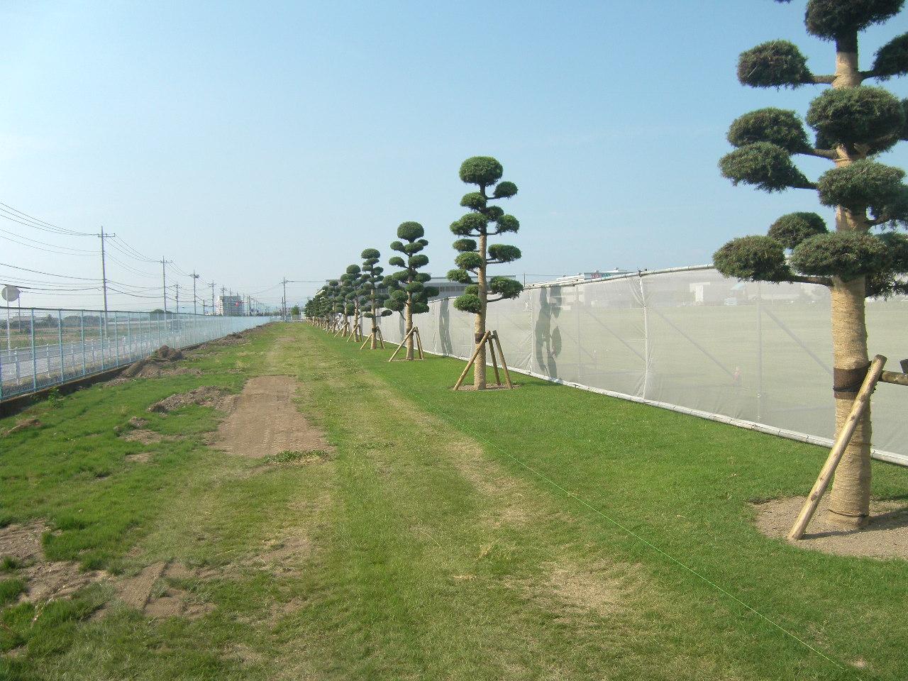 単独7軸道路整備推進事業水路工分割2号 施工前