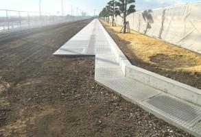 単独7軸道路整備推進事業水路工分割2号