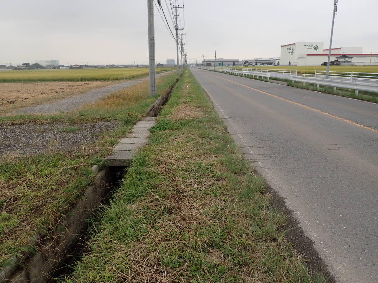 補助公共 社会資本総合整備(活力・一般)道路改良工 分割4号 施工前