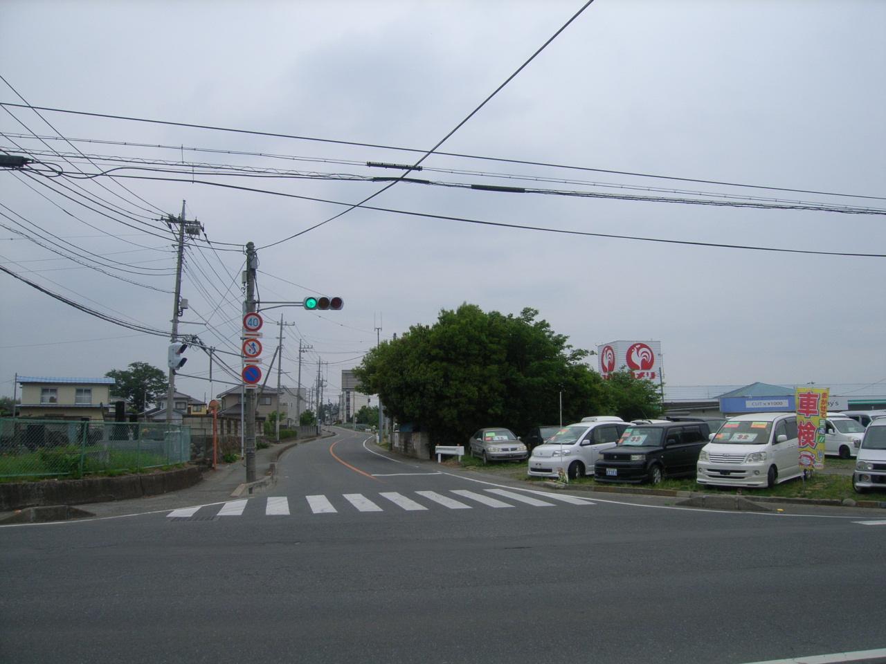 補助公共 社会資本総合整備(防災・安全)(地方道舗装)分割3号 施工前