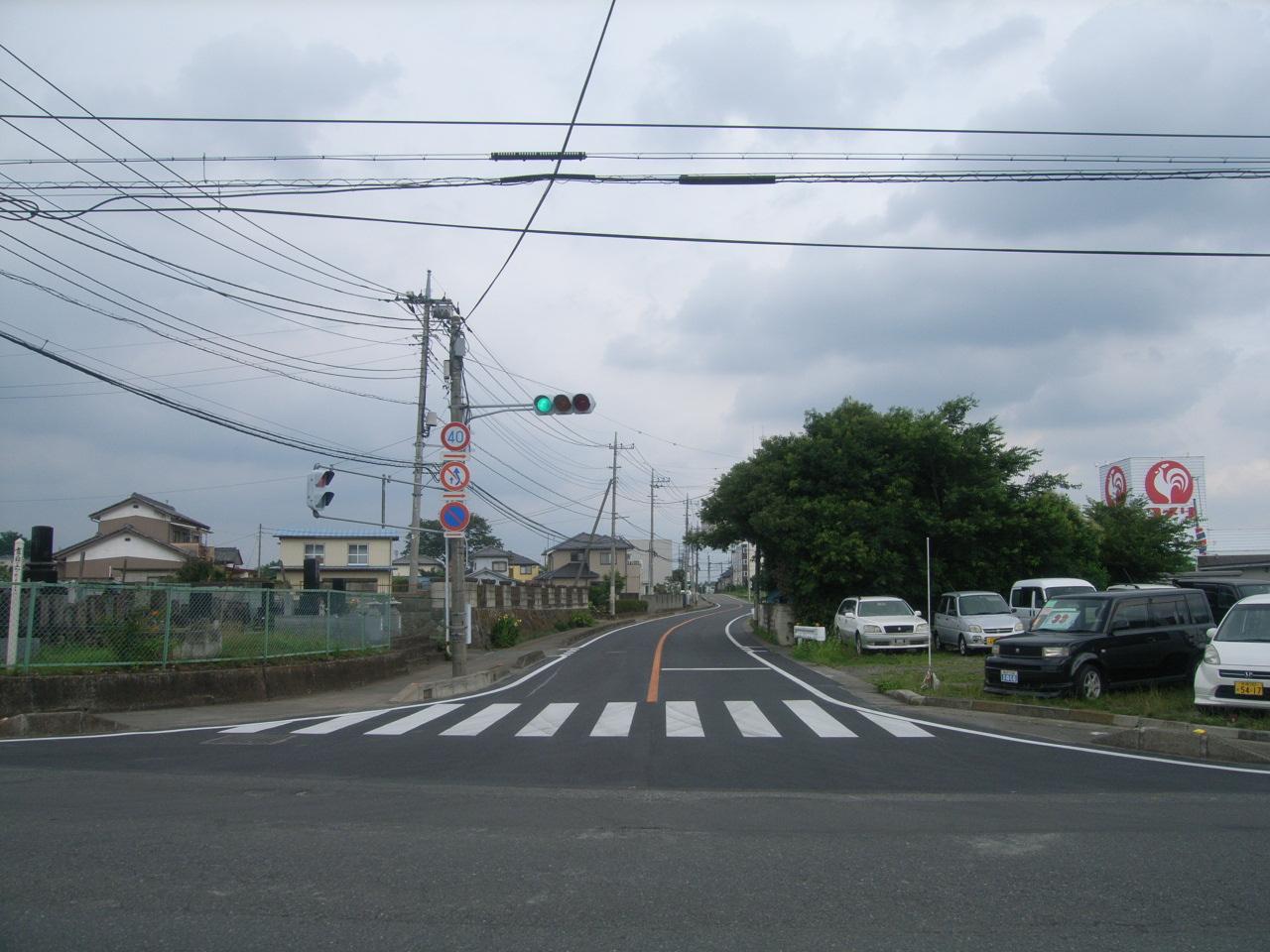 補助公共 社会資本総合整備(防災・安全)(地方道舗装)分割3号 施工後