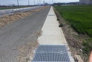 単独道路改築事業 水路工 分割5号