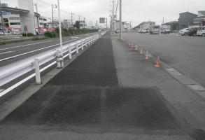 単独交通安全対策事業(交安)歩道舗装補修工事