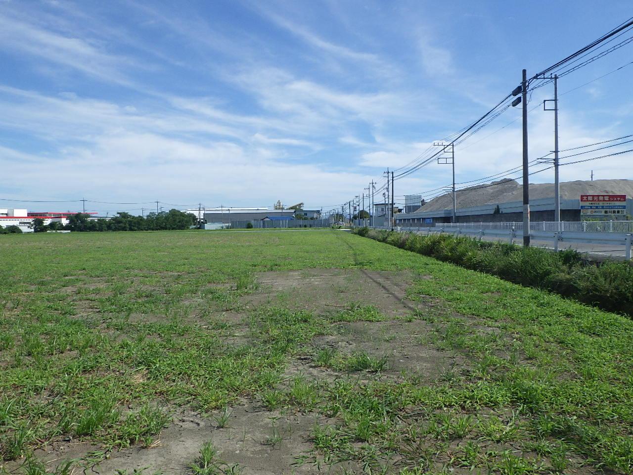 前橋第二グラウンド 防球ネット工事 分割1号 施工前