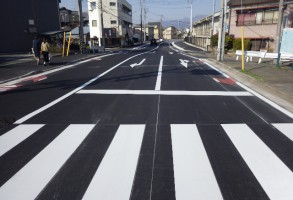 二中地区(第一)土地区画整理事業 都市計画道路整備工事(第4工区)