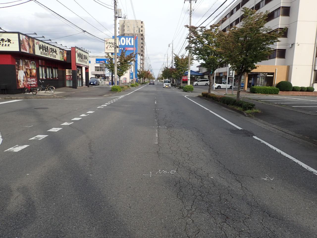 防災・安全交付金(道路)舗装修繕工事(第2号) 施工前