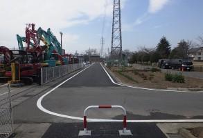 六供土地区画整理事業 区画道路整備工事(第5工区)