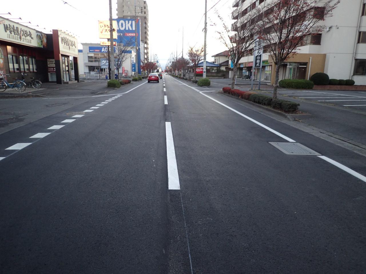 防災・安全交付金(道路)舗装修繕工事(第2号) 施工後