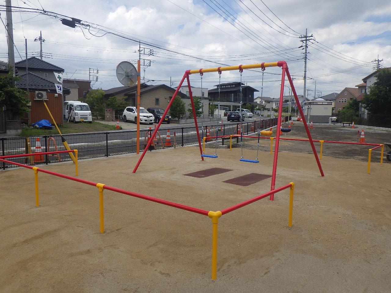 (仮称)二中第三2号公園 遊戯施設整備工事(分割3号) 施工後